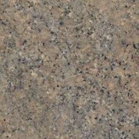IT Kitchens Venice granite Satin Brown Granite effect Laminate Upstand (L)3050mm