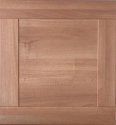 It Kitchens Westleigh Walnut Effect Shaker Oven Housing Cabinet Door W 600mm Diy At B Q