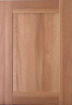 It Kitchens Westleigh Walnut Effect Shaker Standard Cabinet Door W 500mm Diy At B Q
