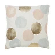 Jaipur Circle printed Multicolour Cushion (L)50cm x (W)50cm