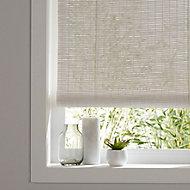 Java Corded White Plain Daylight Roller Blind (W)60cm (L)180cm