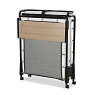 Jay-Be Revolution Small single Foldable Guest bed with Memory foam mattress