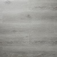 Jazy Grey Wood effect Luxury vinyl click Flooring Sample