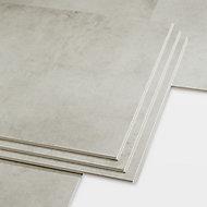 Jazy Light grey Luxury vinyl click flooring