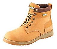 JCB 5CX Honey Safety boots, Size 10