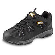 JCB Black & grey Safety trainers, Size 9