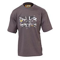 JCB Heritage Grey T-shirt XX Large