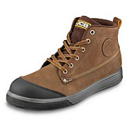 JCB Hiker Tan Safety trainers, Size 6