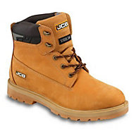JCB Protector Honey Safety boots, Size 6