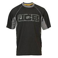JCB Trentham Black T-shirt XXX large