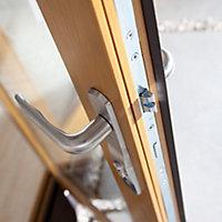 Jeld-Wen Canberra Clear Glazed Golden Oak LH External Folding Patio Door set, (H)2094mm (W)3594mm