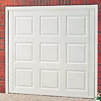 Jersey Georgian Retractable Garage door, (H)1981mm (W)2286mm