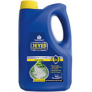 Jeyes 4 in 1 Outdoor cleaning, driveways, paths, decking, patio, outdoor furniture, outdoor drains, greenhouse, animal housing/equine & plant pots/tools Patio cleaner, 2L Bottle