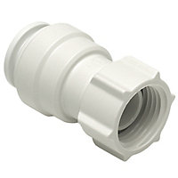 JG Speedfit Push-fit Tap connector 22mm, Pack of 2