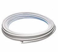 JG Speedfit White PE-X Push-fit Barrier pipe (L)50m (Dia)15mm