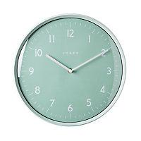 Jones Moonlight Contemporary Duck egg blue Quartz Clock