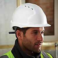 JSP White Invincible® EVO®2 Safety helmet