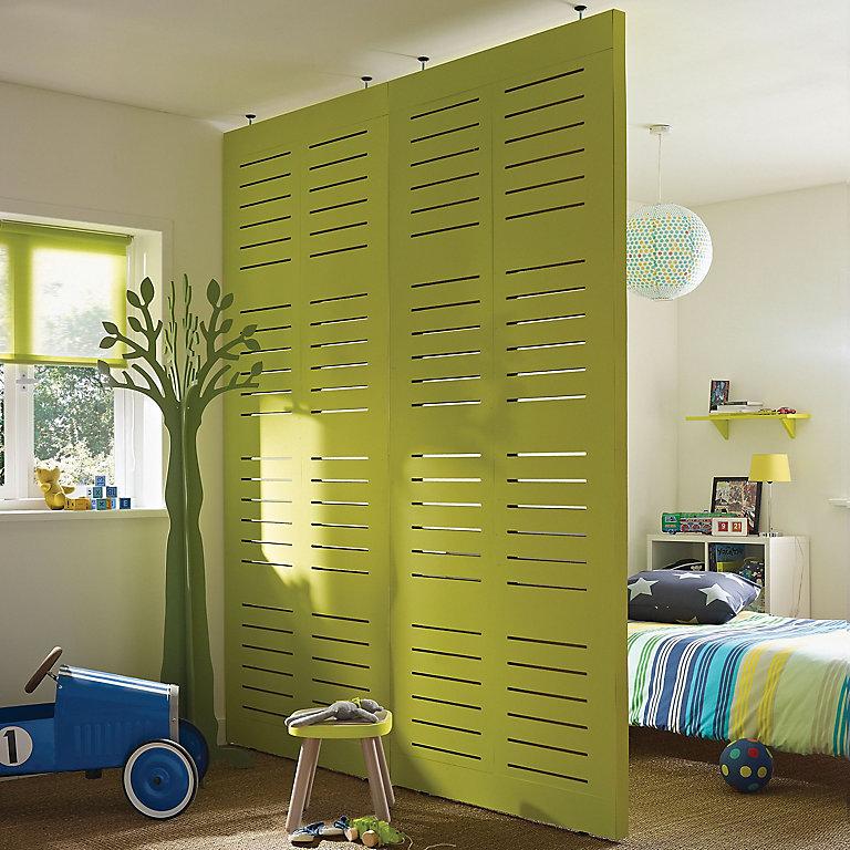 Karalis Cut Out Adjustable Height Room Divider Diy At B Q
