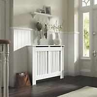 Kensington Medium White Radiator cover