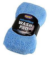 Kent Car Care Yellow Microfibre Wash pad