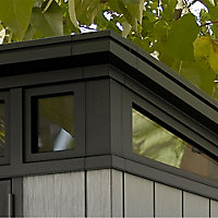 Keter Artisan 7x7 Pent Tongue & groove Plastic Shed