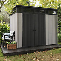 Keter Artisan 9x7 Pent Tongue & groove Plastic Shed