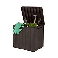 Keter City Wood effect Garden storage box