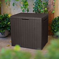 Keter City Wood effect Garden storage box