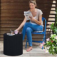 Keter Corona Anthracite Cool stool