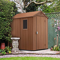 Keter Darwin 6x4 Tongue & groove Composite Shed with floor