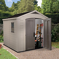 Keter Factor 8x8 Apex Plastic Shed