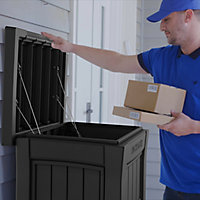 Keter Parcel Plastic Garden storage box