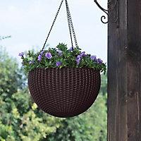 Keter Resin Hanging basket, 35.56cm