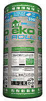 Knauf Eko Roll Loft insulation roll, (L)4.83m (W)1.14m (T)200mm