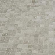 Kontainer Medium grey Matt Concrete effect Porcelain 5x5 Mosaic tile sheet, (L)305mm (W)305mm
