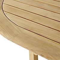 Kuantan Wooden Extendable Table
