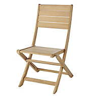 Kuantan Wooden Foldable Chair, Pack of 2