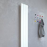Kudox AluLite Vertical Designer Radiator, White (W)280mm (H)1800mm