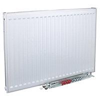 Kudox Type 11 Single Panel Radiator, White (W)500mm (H)500mm