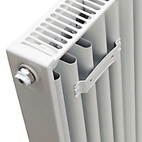 Kudox Type 21 Double Panel Radiator, White (W)900mm (H)400mm