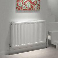 Kudox Type 21 Panel Radiator, White (W)1600mm (H)500mm