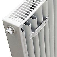 Kudox Type 22 Double Panel Radiator, White (W)400mm (H)500mm
