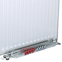 Kudox Type 22 Double Panel Radiator, White (W)400mm (H)600mm