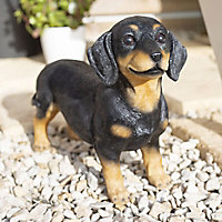 La Hacienda Sausage dog Garden ornament
