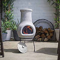 La Hacienda Wela Clay Chiminea