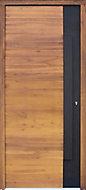 Lacquered Meranti LH External Front Door, (H)2180mm (W)976mm