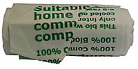 Landsaver Green Starch-based renewable resources Caddy liner, Pack of 20