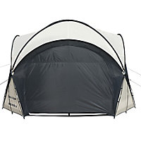Lay-Z-Spa Black & grey Polyester fibre Dome