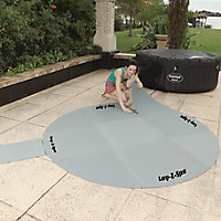 Lay-Z-Spa Dark grey Plastic Floor protector