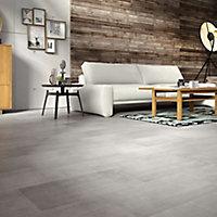 Leggiero Grey Concrete effect Laminate Flooring Sample